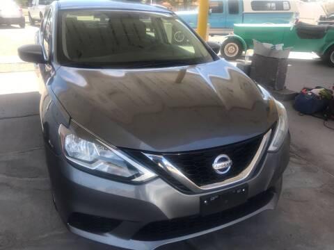 2016 Nissan Sentra for sale at Fiesta Motors Inc in Las Cruces NM