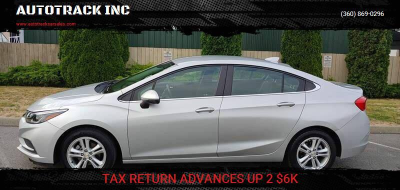 2017 Chevrolet Cruze for sale at AUTOTRACK INC in Mount Vernon WA