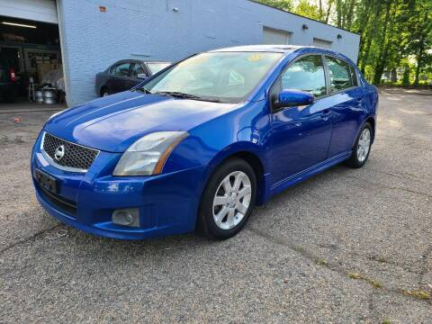2011 Nissan Sentra for sale at Devaney Auto Sales & Service in East Providence RI