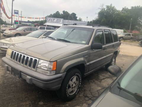 1995 Jeep Grand Cherokee for sale at AFFORDABLE USED CARS in Richmond VA