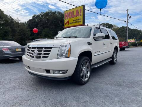 2009 Cadillac Escalade for sale at No Full Coverage Auto Sales in Austell GA