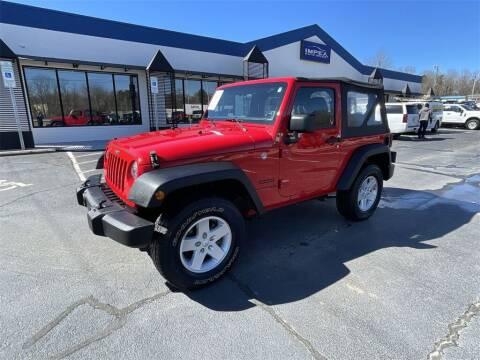 2018 Jeep Wrangler JK for sale at Impex Auto Sales in Greensboro NC