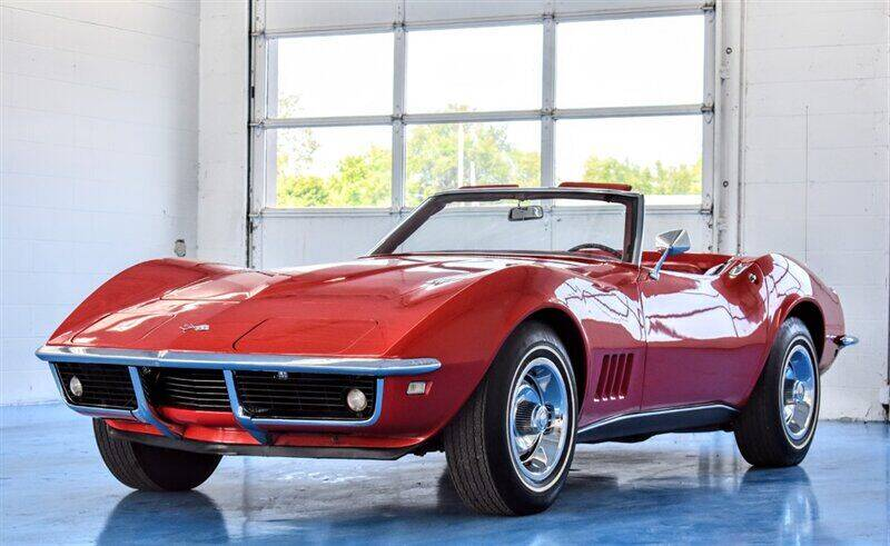1968 Chevrolet Corvette for sale at Mershon's World Of Cars Inc in Springfield OH