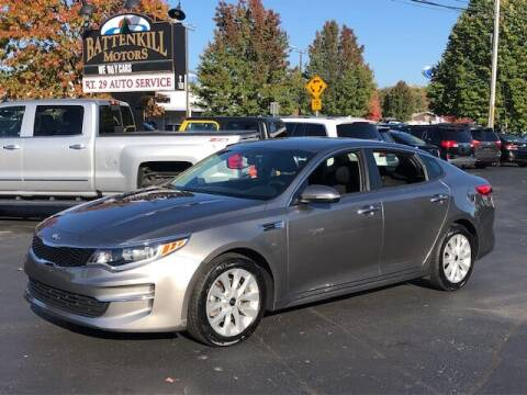 2018 Kia Optima for sale at BATTENKILL MOTORS in Greenwich NY