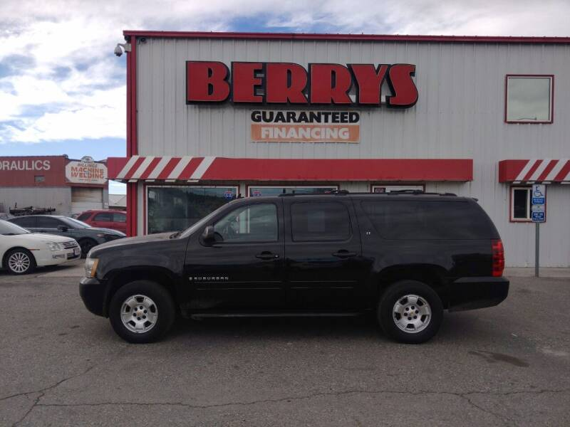 2009 Chevrolet Suburban for sale at Berry's Cherries Auto in Billings MT