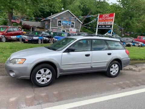 2005 Subaru Outback for sale at Korz Auto Farm in Kansas City KS