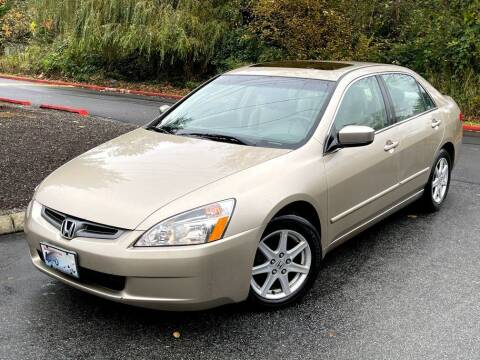 2003 Honda Accord for sale at Halo Motors in Bellevue WA