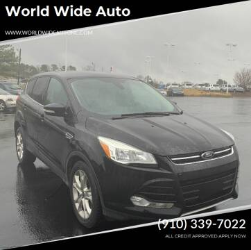 2013 Ford Escape for sale at World Wide Auto in Fayetteville NC
