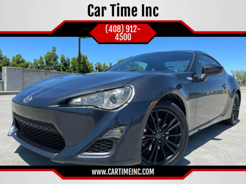 2013 Scion FR-S for sale at Car Time Inc in San Jose CA
