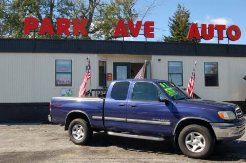 2002 Toyota Tundra for sale at Park Ave Auto Inc. in Worcester MA