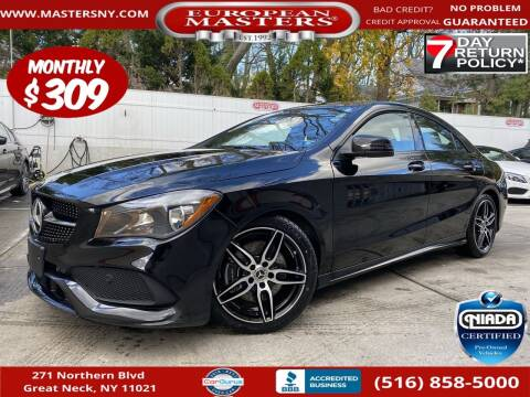 2019 Mercedes-Benz CLA for sale at European Masters in Great Neck NY