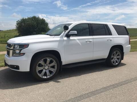 2016 Chevrolet Tahoe for sale at Crowne Motors in Newton IA
