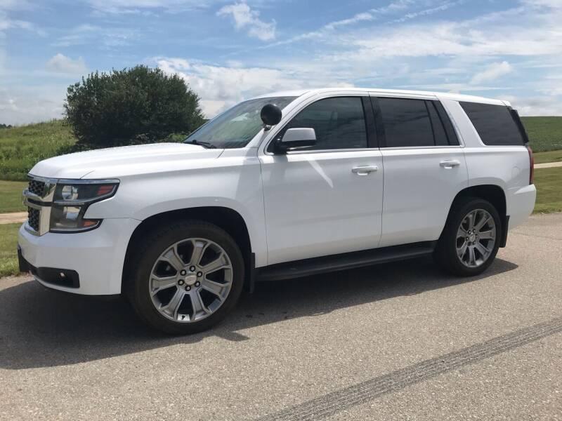 2016 Chevrolet Tahoe for sale at Crowne Motors in Newton IA