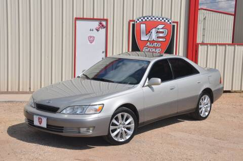 1997 Lexus ES 300 for sale at V12 Auto Group in Lubbock TX