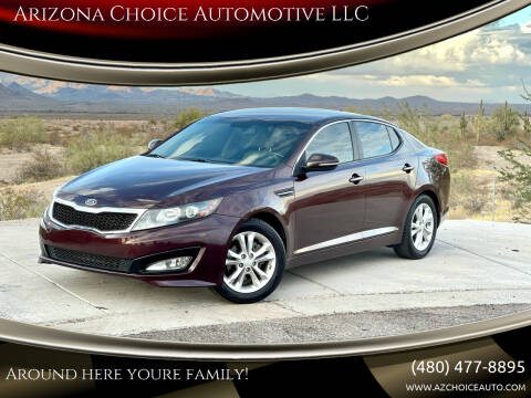 2012 Kia Optima for sale at Arizona Choice Automotive LLC in Mesa AZ