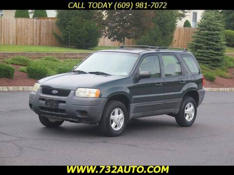 2003 Ford Escape for sale at Absolute Auto Solutions in Hamilton NJ