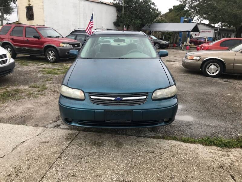 2003 Chevrolet Malibu for sale at DAVINA AUTO SALES in Orlando FL