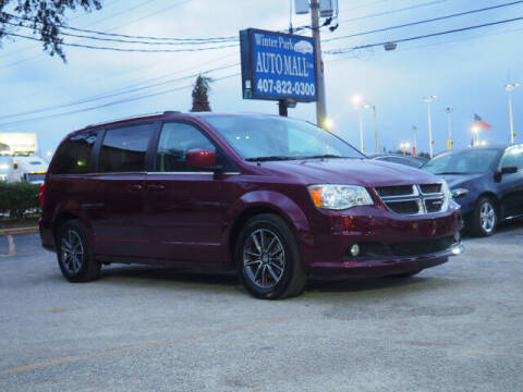 2017 Dodge Grand Caravan for sale at Winter Park Auto Mall in Orlando FL