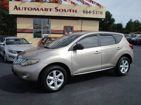 2009 Nissan Murano for sale at Automart South in Alabaster AL