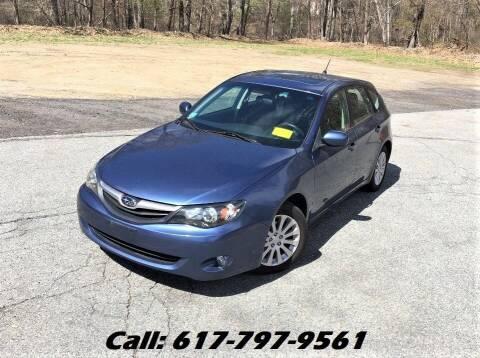 2011 Subaru Impreza for sale at Wheeler Dealer Inc. in Acton MA