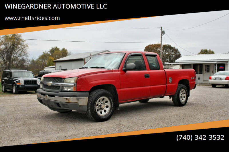 2005 Chevrolet Silverado 1500 for sale at WINEGARDNER AUTOMOTIVE LLC in New Lexington OH