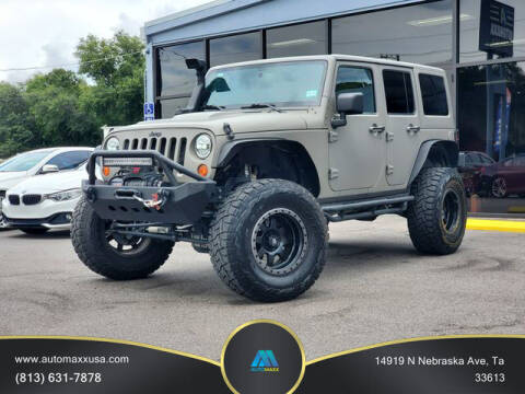 2013 Jeep Wrangler Unlimited for sale at Automaxx in Tampa FL