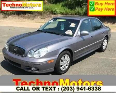 2005 Hyundai Sonata for sale at Techno Motors in Danbury CT