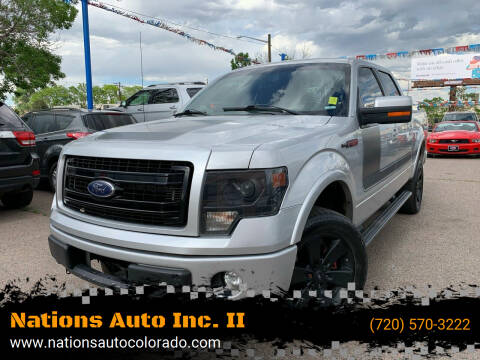 2013 Ford F-150 for sale at Nations Auto Inc. II in Denver CO