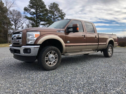 2012 Ford F-350 Super Duty for sale at Superior Wholesalers Inc. in Fredericksburg VA
