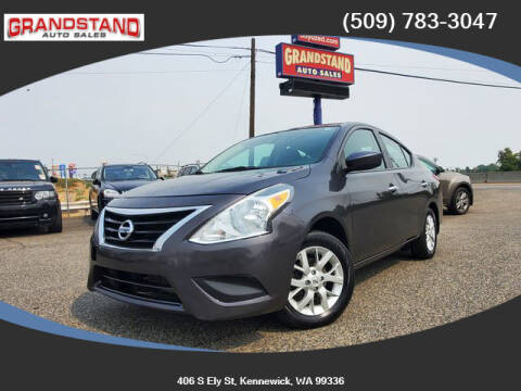 2015 Nissan Versa for sale at Grandstand Auto Sales in Kennewick WA