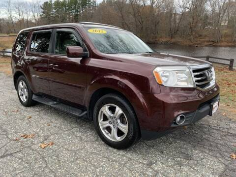 2012 Honda Pilot for sale at Matrix Autoworks in Nashua NH