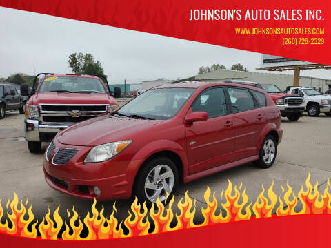 2008 Pontiac Vibe for sale at Johnson's Auto Sales Inc. in Decatur IN