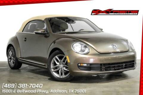 2015 Volkswagen Beetle Convertible for sale at EXTREME SPORTCARS INC in Carrollton TX