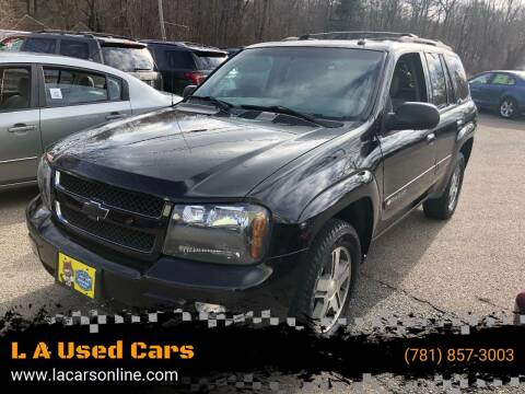 2004 Chevrolet TrailBlazer for sale at L A Used Cars in Abington MA