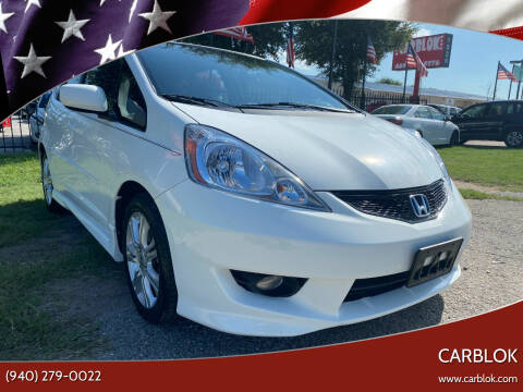 2010 Honda Fit for sale at CARBLOK in Lewisville TX