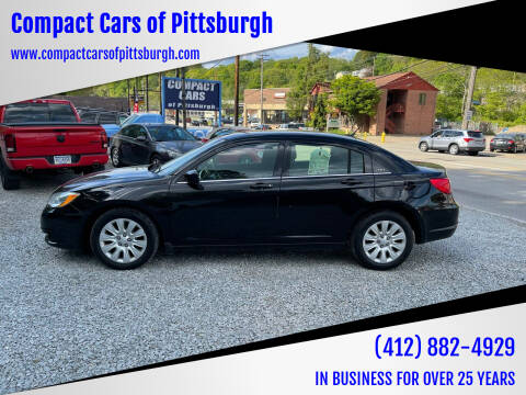 2013 Chrysler 200 for sale at Compact Cars of Pittsburgh in Pittsburgh PA
