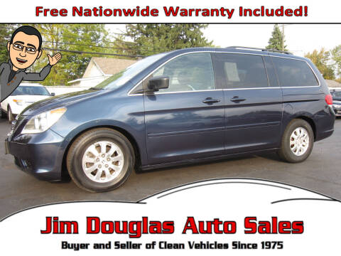 2010 Honda Odyssey for sale at Jim Douglas Auto Sales in Pontiac MI