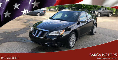 2012 Chrysler 200 for sale at Barga Motors in Tewksbury MA