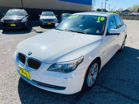 2010 BMW 5 Series for sale at MASS Motors West Fairview in Boise ID