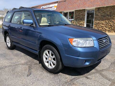 2008 Subaru Forester for sale at Approved Motors in Dillonvale OH