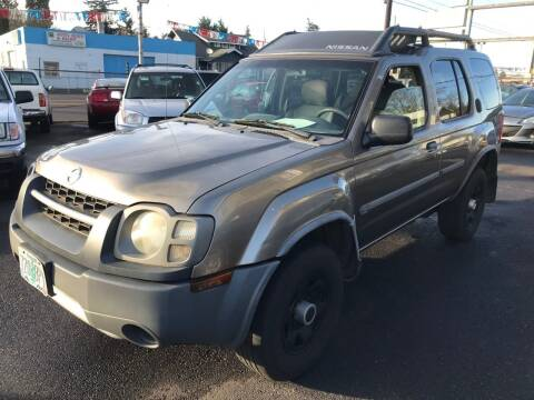 2004 Nissan Xterra for sale at Chuck Wise Motors in Portland OR