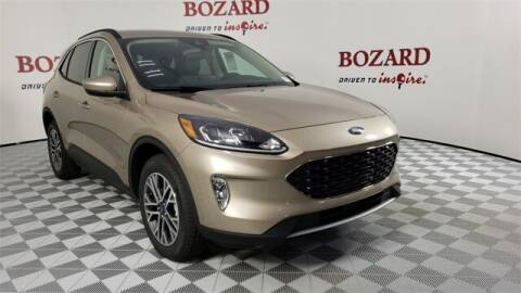 2020 Ford Escape for sale at BOZARD FORD in Saint Augustine FL