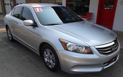 2012 Honda Accord for sale at VISTA AUTO SALES in Longmont CO