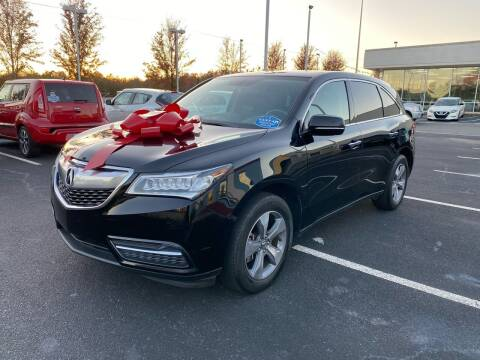 2015 Acura MDX for sale at Charlotte Auto Group, Inc in Monroe NC