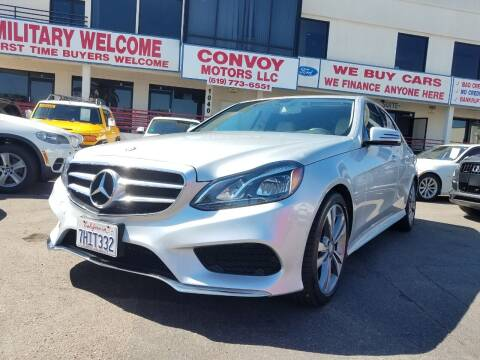 2014 Mercedes-Benz E-Class for sale at Convoy Motors LLC in National City CA