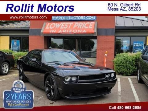 2012 Dodge Challenger for sale at Rollit Motors in Mesa AZ
