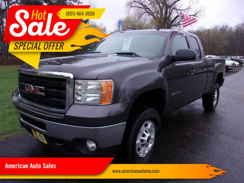 2011 GMC Sierra 2500HD for sale at American Auto Sales in Forest Lake MN