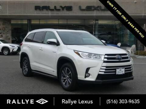 2018 Toyota Highlander Hybrid for sale at RALLYE LEXUS in Glen Cove NY