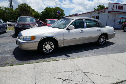 2002 Lincoln Town Car for sale at J Linn Motors in Clearwater FL