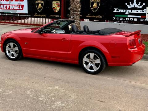 2007 Ford Mustang for sale at Texas Auto Corporation in Houston TX